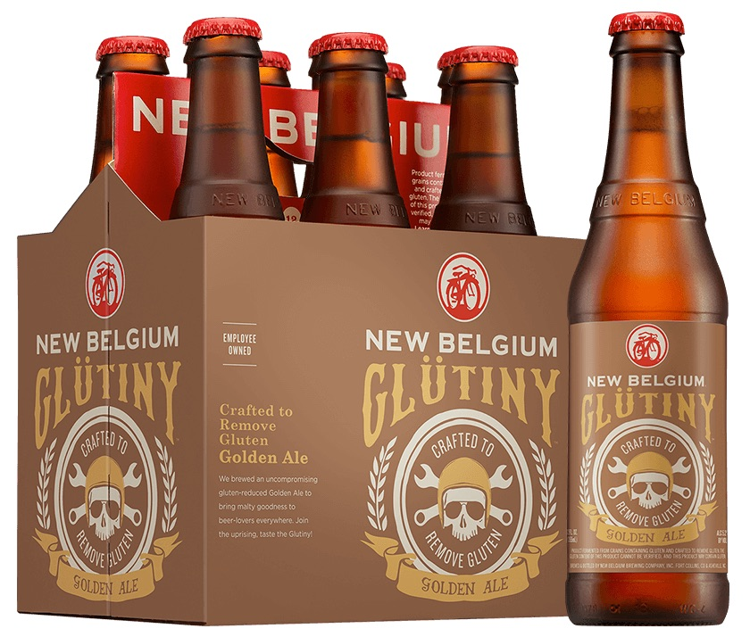 New Belgium Glutiny Golden Ale