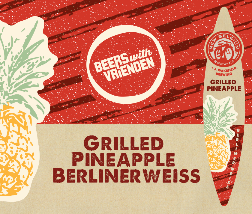 New Belgium Grilled Pineapple Berlinerweiss