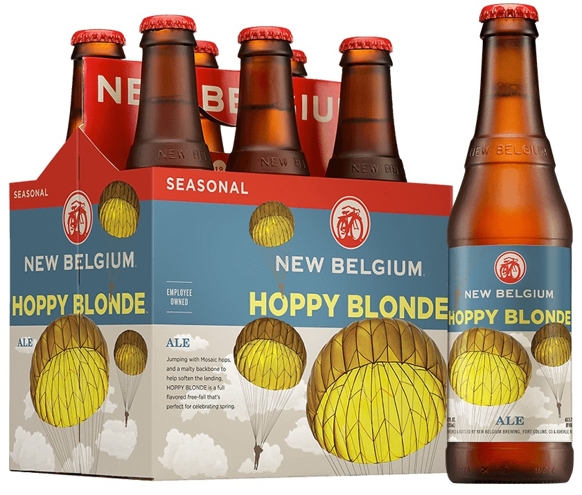 New Belgium Hoppy Blonde Ale