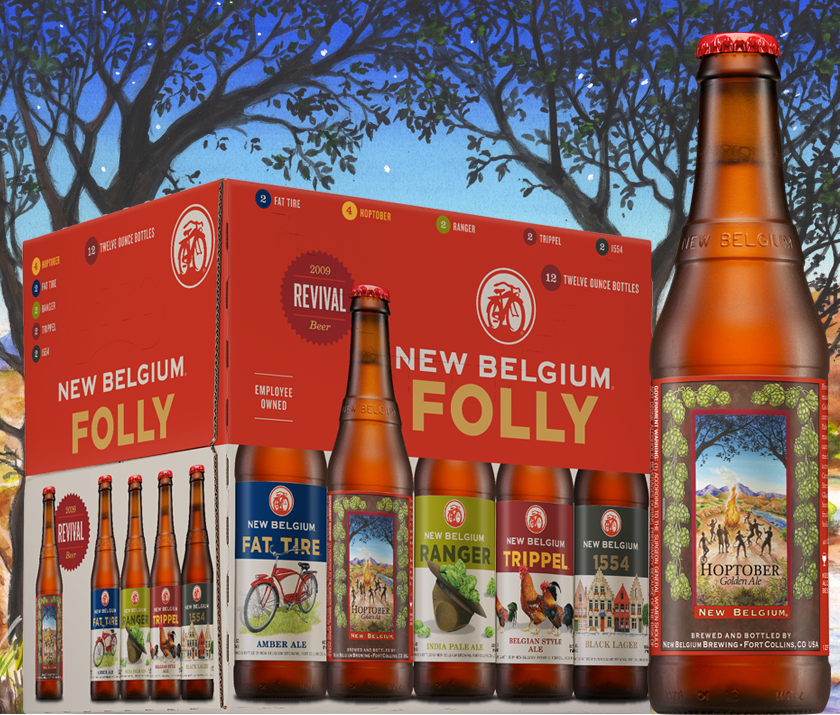 New Belgium Hoptober Golden Ale