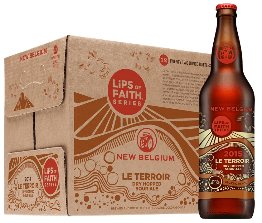New Belgium Terrior Dry-Hopped Sour Ale