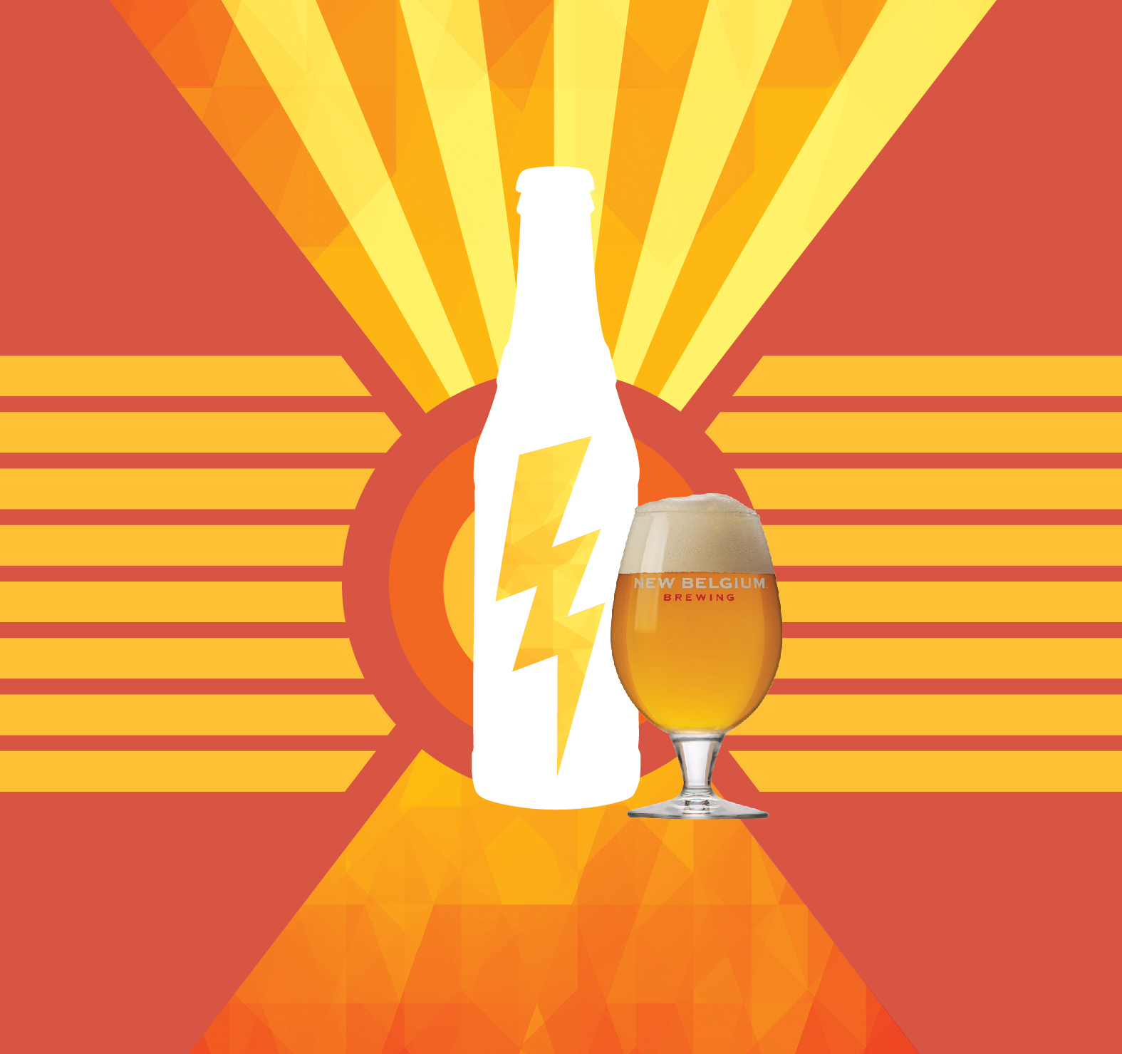 New Belgium Lightening In a Bottle Ale