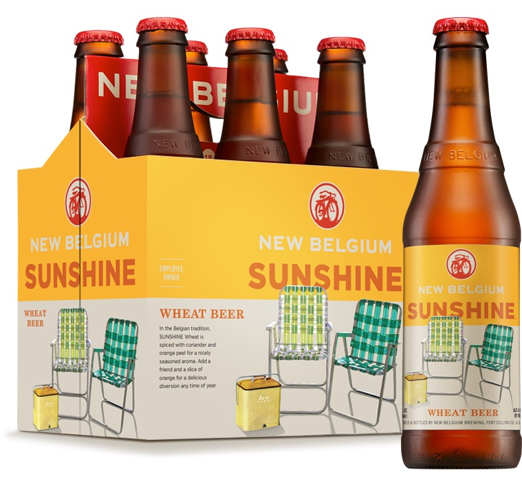New Belgium Sunshine Wheat Beer