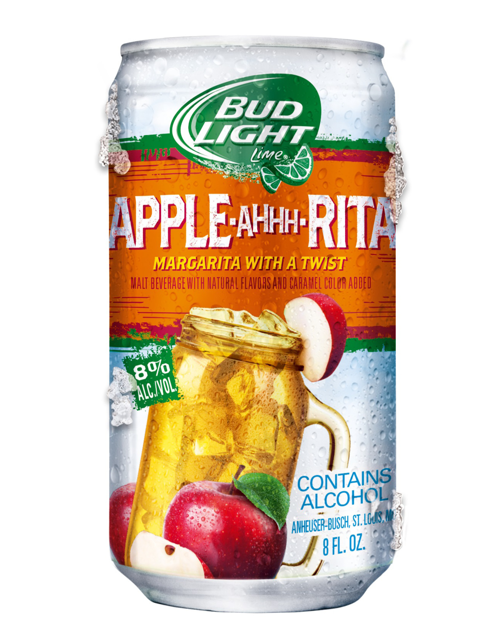 Bud Light Lime Apple Ahhh Rita Has The Great Taste Of An Apple Margarita  With A Twist Of Bud Light Lime For A Delightfully Refreshing Finish.